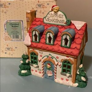 "Other - Cherished Teddies-""Santa's Workshop"""